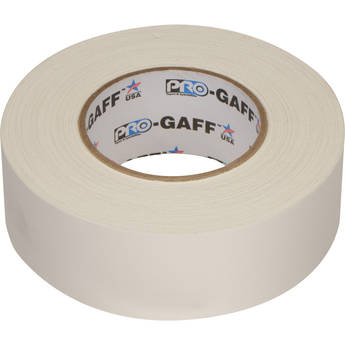 "ProTapes Pro Gaffer Tape (2"" x 55 yd, White)"