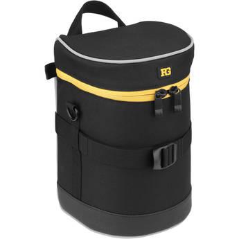 "Ruggard Lens Case 8.5 x 4.5"" (Black)"