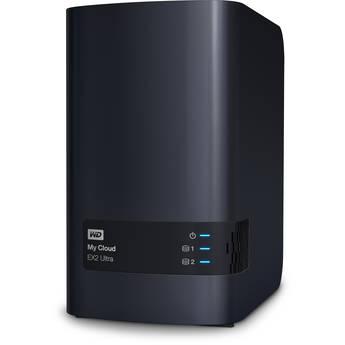 WD My Cloud Expert Series 12TB EX2 Ultra 2-Bay NAS Server (2 x 6TB)