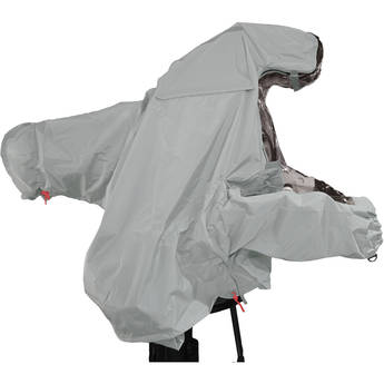 """ShooterSlicker MTO-S5-G Raincover for Studio Camera with Box Lens and 7 - 9"""" Monitor (Gray)"""