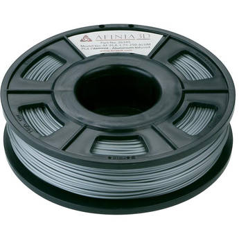 Afinia 1.75mm Specialty PLA Filament for H-Series 3D Printers (Infused Aluminum, 300g)