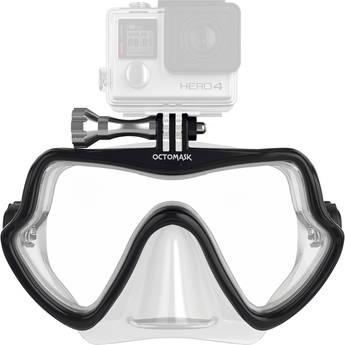 OCTOMASK Frameless Scuba Mask for GoPro Camera (Clear)