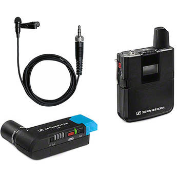 Sennheiser AVX-ME2 SET Digital Camera-Mount Wireless Omni Lavalier Microphone System (1.9 GHz)