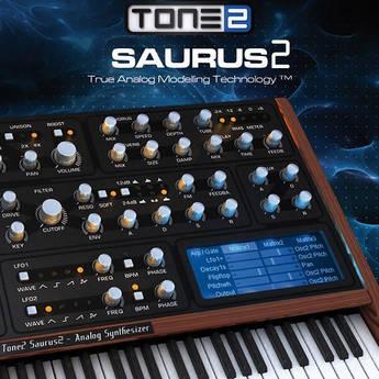 TONE2 Tone2 Saurus2 - Virtual Instrument (Download)