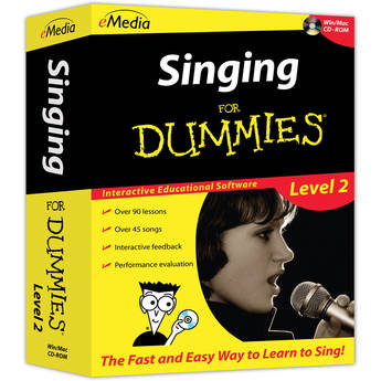 eMedia Music Singing for Dummies Level 2 (Electronic Download, Windows)