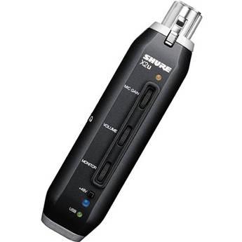 Shure X2u XLR to USB Microphone Signal Adapter