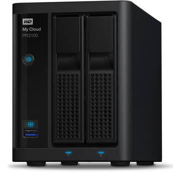 WD My Cloud PR2100 2-Bay NAS Enclosure