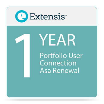 Extensis Portfolio User Connection Priority Annual Service Agreement (ASA) Renewal