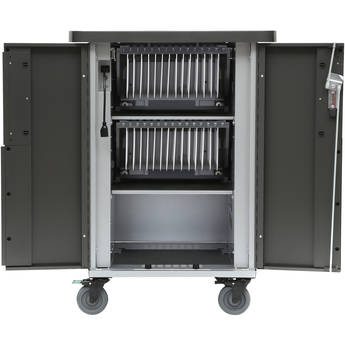 Bretford EVER Cart T30 Mobile 30-Device AC Charging Cart with 180° Back Panel