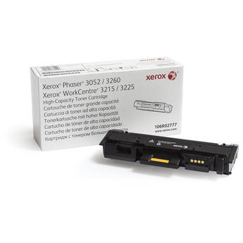 Xerox Black High Capacity Toner Cartridge for Phaser 3052/3260 & WorkCentre 3215/3225