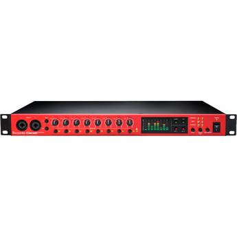Focusrite OctoPre Eight-Channel Preamp with 24-Bit/192 kHz Conversion and ADAT I/O