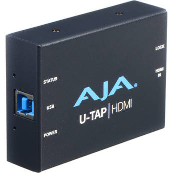 AJA U-TAP USB 3.0/3.1 Gen 1 Powered HDMI Capture Device