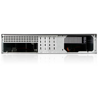 iStarUSA D-213-MATX 2 RU Compact Rackmount microATX Chassis with T-7M1-SATA-RED Mobile Rack
