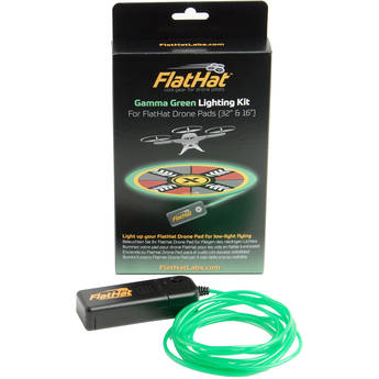 FlatHat Lighting Kit for FlatHat Collapsible Drone Pads (Gamma Green)