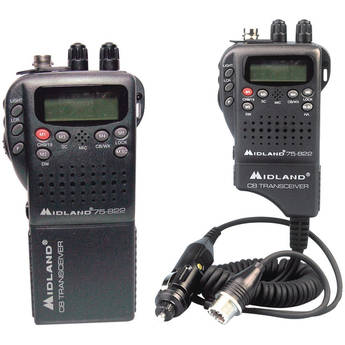 Midland 75-822 40-Channel 2-in-1 CB Radio with Weather Alerts