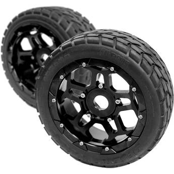 """CINEGEARS 170 x 80mm Spare Tire for Select RC Cars (2.5"""" Tread)"""