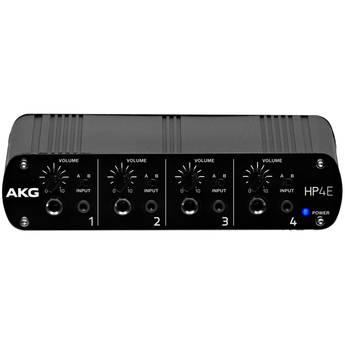 AKG HP4E 4-Channel Headphone Amplifier