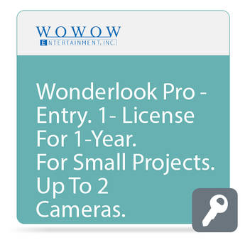 WOWOW Entertainment WonderLook Pro (1-Year Entry License, Download)