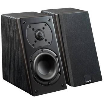 SVS Prime Elevation 2-Way Atmos Add-On Speakers (Premium Black Ash, Pair)