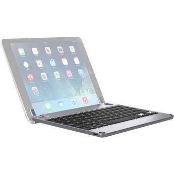"Brydge 9.7 Bluetooth Keyboard for iPad Air 1/2, Pro 9.7"" & 2017/2018 iPad (Space Gray)"