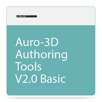 AURO Technologies Auro-3D Authoring Tools V2.0 Basic (Download)