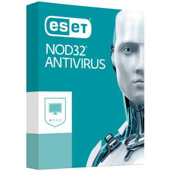 ESET NOD32 Antivirus 2017 (3 Users, 1-Year License, Download)