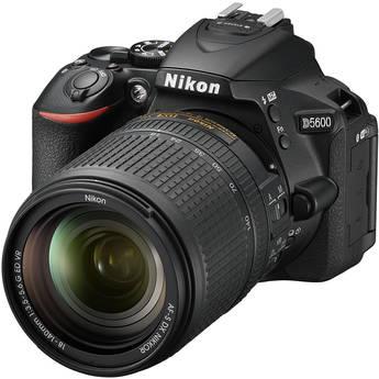 Nikon D5600 DSLR Camera with 18-140mm Lens