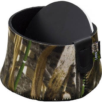 Realtree Max4 HD LensCoat Hoodie XXXX Large Camera Lens Camouflage Neoprene Protection LCH4XLM4