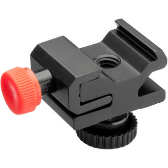 """Vello Universal Accessory Shoe Mount With 1/4"""" Screw and Knob"""