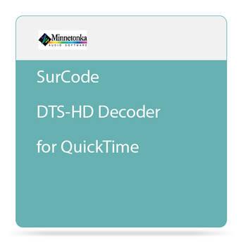 Minnetonka Audio SurCode DTS-HD Decoder for QuickTime