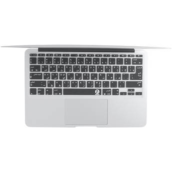 """EZQuest Arabic/English Keyboard Cover for the 13.3"""" MacBook Pro without Touch Bar (Late 2016) & 12"""" MacBook (Early 2016)"""