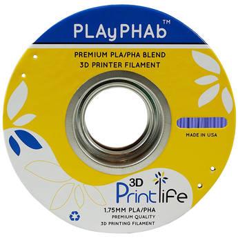 3D Printlife PLAyPHAb 1.75mm PLA/PHA Filament (Lavender)