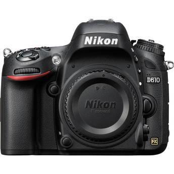 Nikon D610 DSLR Camera (Body Only, Refurbished by Nikon USA)