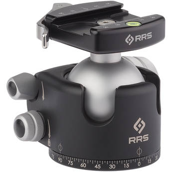 Really Right Stuff BH-55 Ball Head with Full-Size Lever-Release Clamp (Chrome)