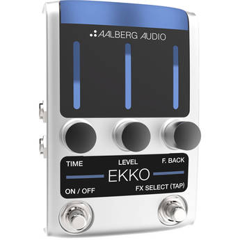 Aalberg EKKO EK-1 Delay Pedal with Wireless Control