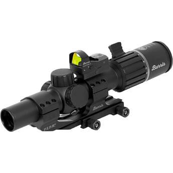 Burris Optics 1-6x24 RT-6 Riflescope and FastFire III Reflex Sight Tactical Kit (Illuminated Ballistic AR Reticle, Matte Black)