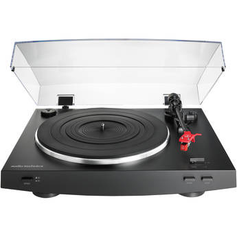 Audio-Technica Consumer AT-LP3 Stereo Turntable (Black)