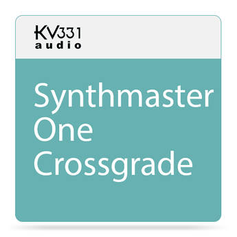 KV331 Audio SynthMaster One - Wavetable Synthesizer Plug-In (Crossgrade from SynthMaster, Download)