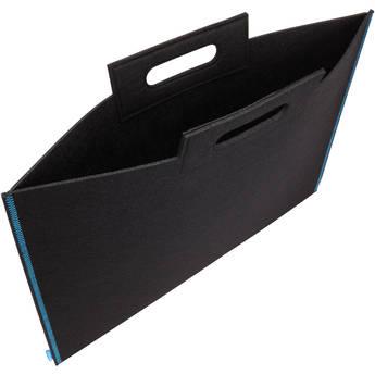 """Itoya Midtown Bag Large Format Artwork Carrier (19 x 26"""", Black/Blue)"""