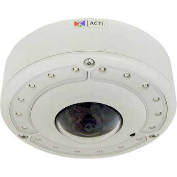 ACTi B76A 12MP Outdoor Hemispheric Network PTZ Dome Camera with Night Vision