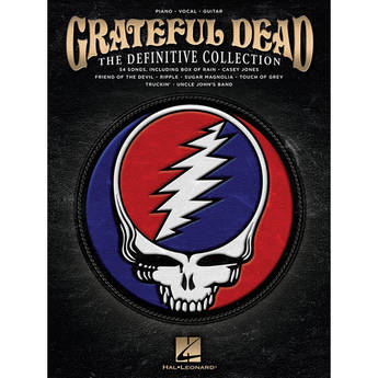 Hal Leonard Songbook: Grateful Dead - The Definitive Collection - Piano/Vocal/Guitar Arrangements (Paperback)