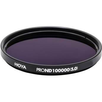 Hoya 82mm ProND-100000 Neutral Density 5.0 Solar Filter (16.6 Stops)