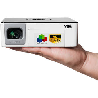 AAXA Technologies M6 1200-Lumen Full HD LED Pico Projector