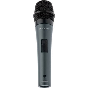 Polsen HDM-16-S Handheld Dynamic Performance Microphone