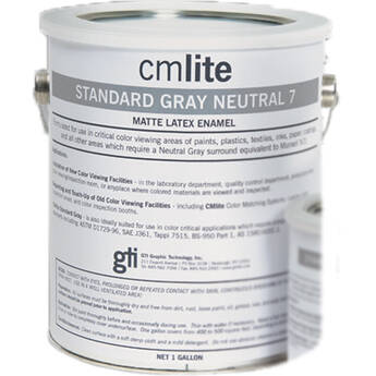 GTI Standard Gray Neutral N5 Vinyl Latex Paint (1 Gallon)