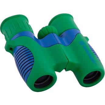 ExploreOne 6x21 Bresser Roof Binoculars (Green/Blue)