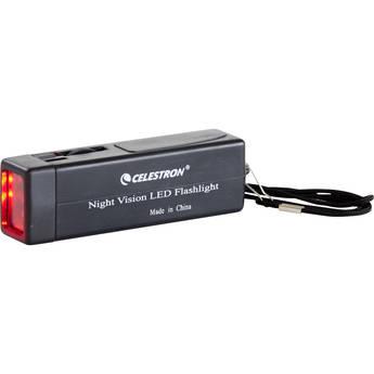 Celestron Night Vision Red LED Flashlight