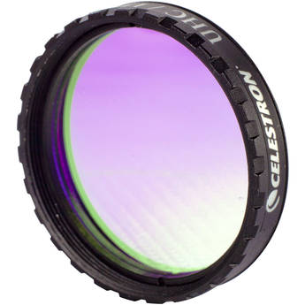 """Celestron UHC (Ultra High Contrast) LPR Filter (1.25"""") - Reduces Transmission of Wavelengths of Artificially-Produced Light"""