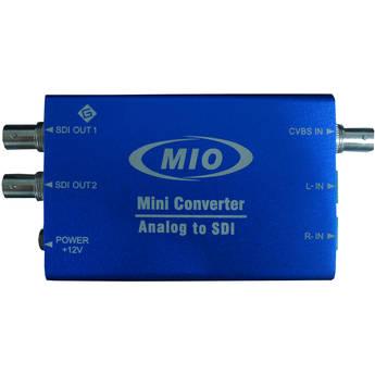 Gra-Vue MIO Mini Analog Video & 2-Channel Audio to SDI Video Embedder Converter