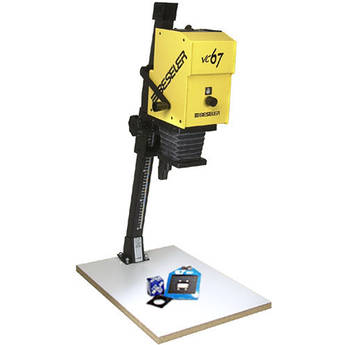 Beseler Printmaker 67 VC (Variable Contrast) Enlarger with Baseboard & Lens Kit - Yellow